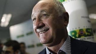 Felipão fez elogios ao técnico Gilson Kleina