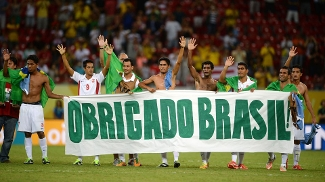 Os taitianos se despedem da torcida como a pior seleção da Copa das Confederações