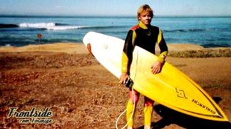 Marco Olm iniciou no surf