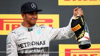 Lewis Hamilton, da Mercedes, ficou em terceiro no Grande Prêmio da Hungria