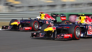 Webber e Vettel largarão na primeira fila para o GP da Coreia do Sul