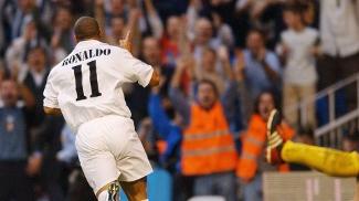 Ronaldo chegou como 11, mas pediu a 9 no ano seguinte