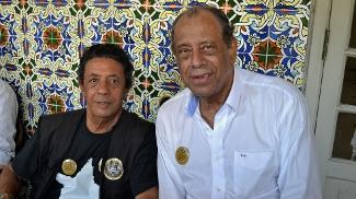 Amarildo e Carlos Alberto Torres votaram nesta terça na sede alvinegra