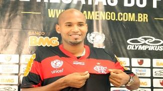 Wellington Silva chegou ao Flamengo após o Carioca