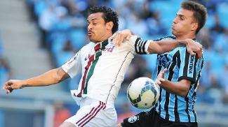 Fred Fluminense Grêmio Campeonato Brasileiro 18/05/2014