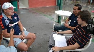 Abel concedeu entrevista exclusiva ao ESPN.com.br nas Laranjeiras