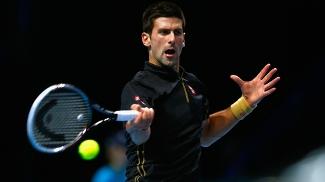 Novak Djokovic Rebate Kei Nishikori ATP Finals Tênis 15/11/2014