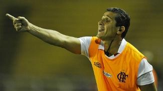 Jorginho, técnico do Flamengo, contra o Bangu