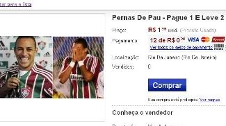 Rodriguinho Washington Fluminense Mercado Livre R$ 1,99