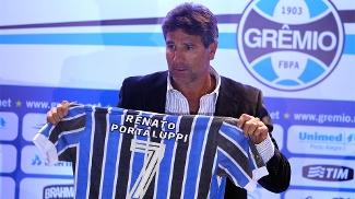 Renato Gaúcho é apresentado como técnico do Grêmio