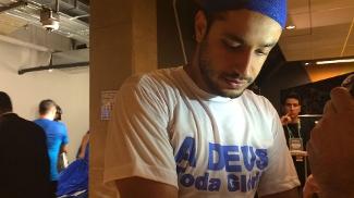 Léo falou sobre a corrente de orações depois da partida