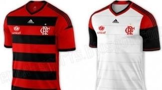 Na internet já circulam possíveis modelos da camisa do Flamengo da Adidas