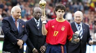 Fabregas Premios Espanha Mundial Sub-17 Final 30/08/2003