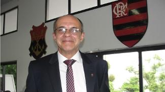 Eduardo Bandeira de Mello, em sua posse como presidente do Flamengo