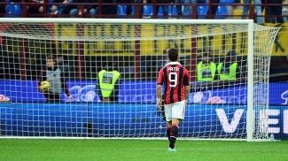 Alexandre Pato, durante partida contra a Fiorentina