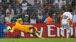 Goleiro Areola defende pênalti na final do Mundial sub-20