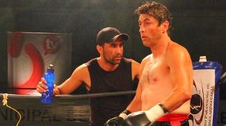Animal em foto das lutas mais recentes da carreira