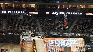 Javier Villegas Night of the Jumps Berlim