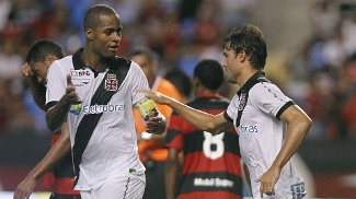Pedro Ken marcou, mas não evitou a derrota vascaína