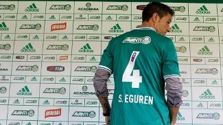 Eguren vestirá a camisa 4 no Palmeiras