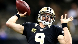 Eagles vão encarar os Saints, de Drew Brees, nos playoffs