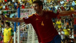 Espanha vira sobre o Brasil no Mundial de Futsal