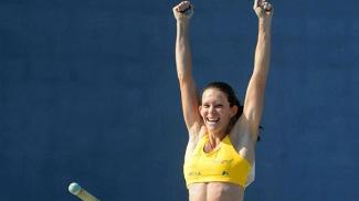 Fabiana Murer ficou com a medalha de ouro