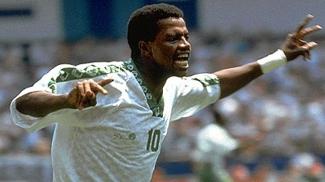 Saed Owairan comemora golaço em 1994