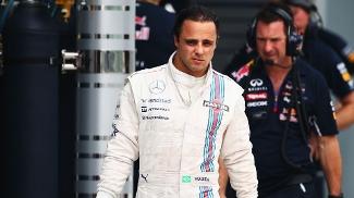 Felipe Massa não seguiu as ordens da Williams para dar passagem ao companheiro, Valteri Bottas