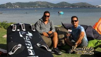 Roberto Veiga 'Pulga' no Frontside com Formiga