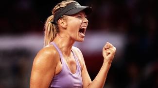 Maria Sharapova Agnieszka Radwanska WTA Stuttgart Alemanha Tênis 25/04/2014