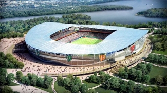 Projeto do estádio de Kazan para a Copa do Mundo de 2018