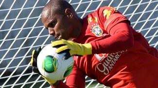 Jefferson atualmente é reserva na seleção brasileira