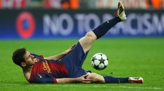 Messi fica no chão: argentino teve atuação apagada, algo raro