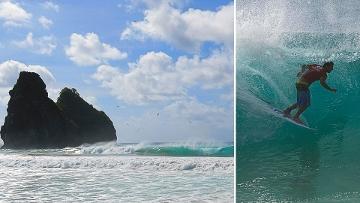 Brasileiro de Surf: Bruno Santos vence nos tubos de Noronha