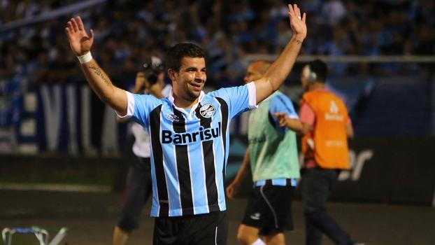 Grêmio foi o último clube do atacante no futebol brasileiro