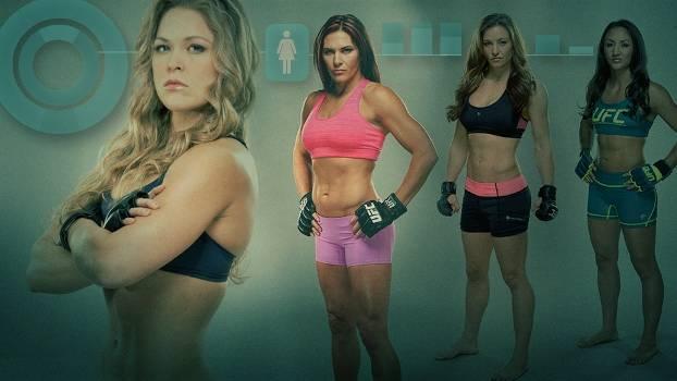 UFC - Mulheres - Capa