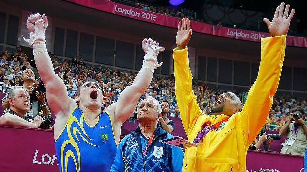 Zanetti comemora medalha de ouro