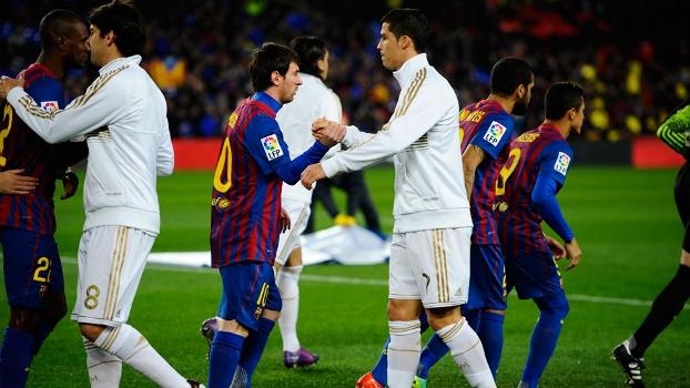 Messi x Ronaldo. Veja fotos dos dois craques nos seis duelos entre Real e Barça em 2011/2012
