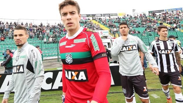 Luan Goleiro Figueirense São Paulo Campeonato Brasileiro 31/08/2014