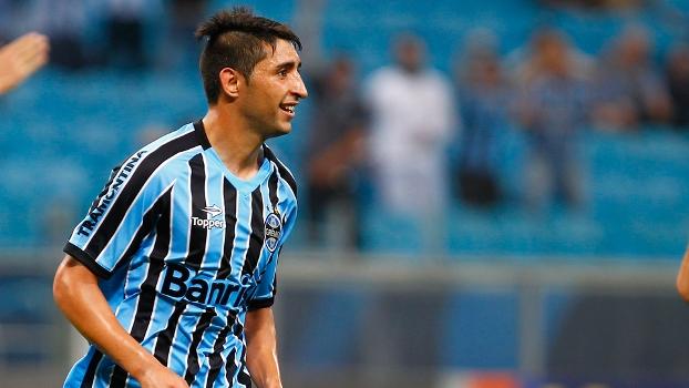 Alán Ruiz quer ficar no Grêmio