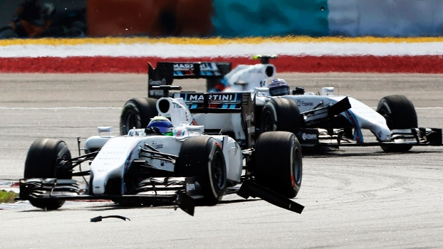 Felipe Massa Valteri Bottas Williams GP Malásia Fórmula 1 30/03/2014