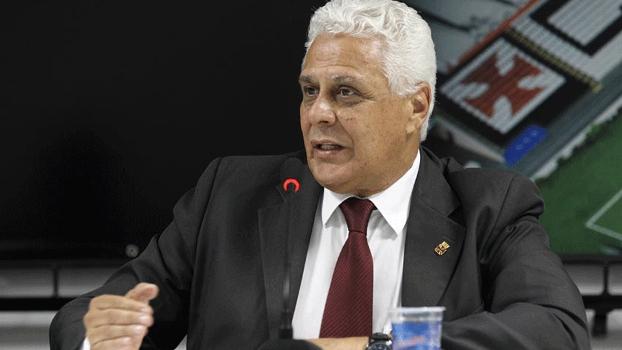 Roberto Dinamite, em entrevista coletiva do Vasco