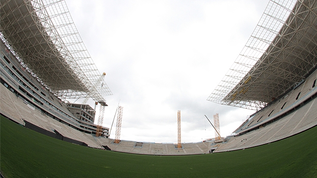 Arena Corinthians, em Itaquera, está 92% pronta