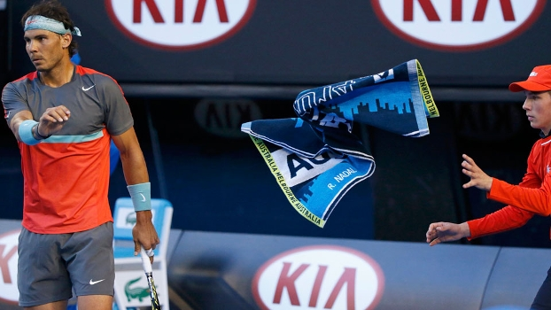Rafael Nadal fez elogios ao novo campeão de um Grand Slam