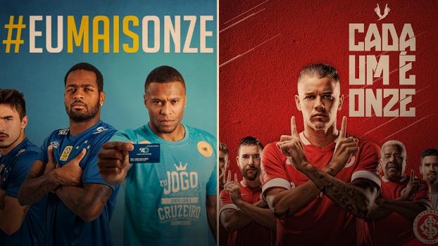 O departamento de marketing do Cruzeiro foi surpreendido com a ação do Inter