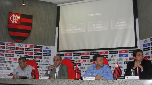 Luiz Eduardo Baptista, Eduardo Bandeira de Mello, Rodrigo Tostes e Flávio Willeman