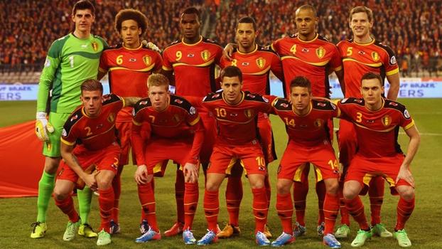Seleção belga está repleta de jogadores em boa fase