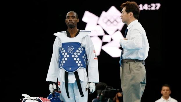 Na decisão dos juízes, Diogo Silva acabou derrotado pelo iraniano Mohammad Bagheri