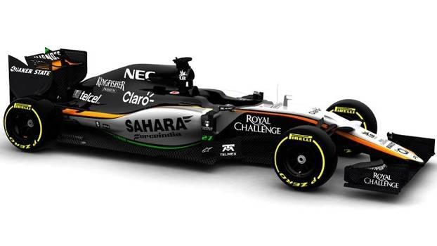 VJM08, o carro da Force India para a temporada 2015 da Fórmula 1